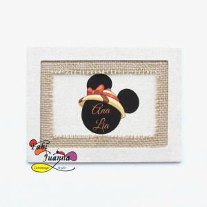 Fabi Juanna - Quadro Safari Minnie